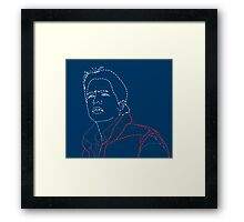 Invisible Marty Framed Print