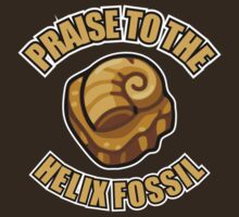 PRAISE TO THE HELIX FOSSIL by nadievastore