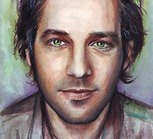 Paul Rudd Portrait by OlechkaDesign