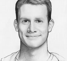 Daniel Tosh Portrait by OlechkaDesign