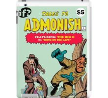 Tales To Admonish #1 iPad Case/Skin