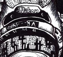 The Mighty Nikon Sticker