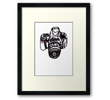 The Mighty Nikon Framed Print