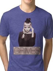 GRIMES Tri-blend T-Shirt