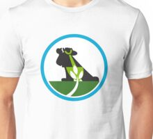 Organic Farmer Shovel Plant Circle Unisex T-Shirt