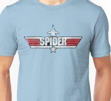 Custom Top Gun Style Style - Spider Unisex T-Shirt