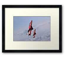 Vertical Arrows Framed Print