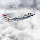 British Airways A380 by James Biggadike