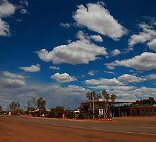 Billabong Roadhouse, North of Geraldton in the Shire of Shark Bay by loza1976