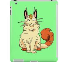 maine coon  iPad Case/Skin