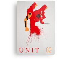 Unit 02 Metal Print