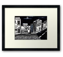 Rythm & Blues Framed Print