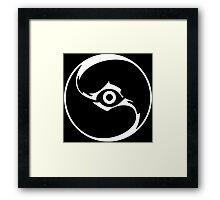 LoK - Spectral symbol Framed Print