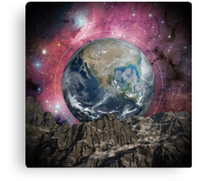 A Place In Space Canvas Print