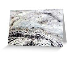 Burren Charcoal Greeting Card