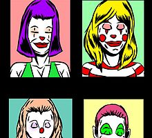 Clown Girls by AghoriShaivite