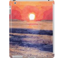 Morning Sun Over Atlantic Ocean iPad Case/Skin
