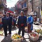 the street vendors by OTOFURU