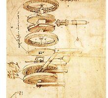 Invention by Leonardo da Vinci by Joyce Flendrie