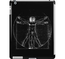 Vitruvian Man (neg) iPad Case/Skin