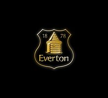 Everton FC - Gold by ThomasCainStock