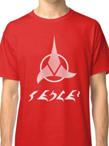"Qapla' - ""Success"" plus Klingon Insignia Classic T-Shirt"