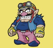 Wario  - Angry by StraightEK