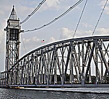 Cape Cod Canal Train Bridge Art Print by CapeCodGiftShop