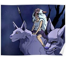 the wolf princess Poster