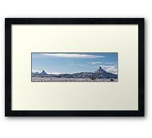 Six-Shooter Peaks Framed Print
