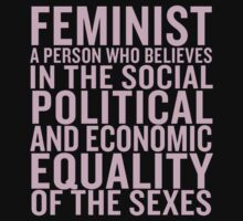 Definition of a feminist by cremma