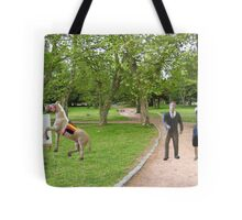 Joe, you said we were getting a horse drawn carriage----what was I supposed to think? Tote Bag