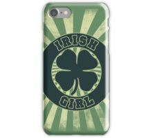 Irish Girl iPhone Case/Skin