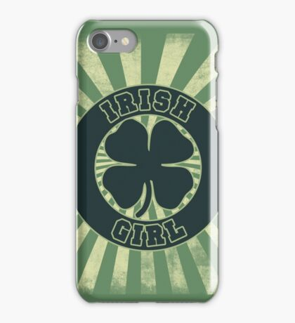 Irish Girl iPhone Case/Skin