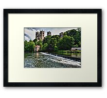 The Cathedral and the River Framed Print