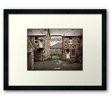 Derelict Hospital Framed Print