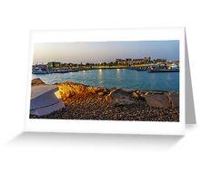 marina Greeting Card