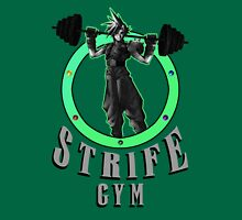Strife's Gym! - Final Fantasy Unisex T-Shirt