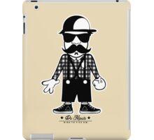 DA HIPSTA WHITE & BLACK iPad Case/Skin