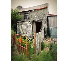 The Old Cottage Photographic Print