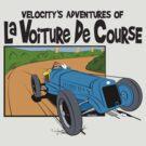 1927 Delage Tintin by velocitygallery