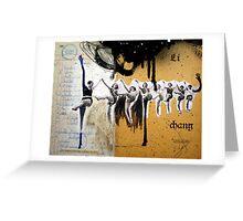 LONGITUD, PROFUNDIDAD Y ANCHURA (length, depth and width) Greeting Card