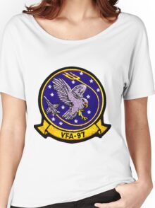 VFA-97 Warhawks Patch Women's Relaxed Fit T-Shirt