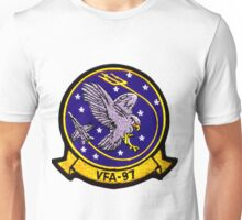 VFA-97 Warhawks Patch Unisex T-Shirt