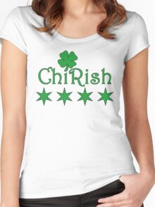 ChiRish Hoodie Women's Fitted Scoop T-Shirt