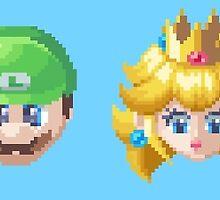 Pixel Mario by PatAck