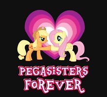 Pegasisters Forever 6 Womens Fitted T-Shirt