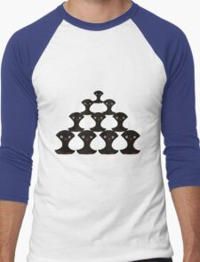 Penguin Pyrimid Men's Baseball ¾ T-Shirt