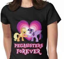 Pegasisters Forever 8 Womens Fitted T-Shirt