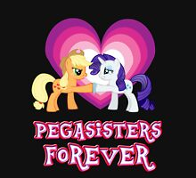 Pegasisters Forever 9 Womens Fitted T-Shirt
